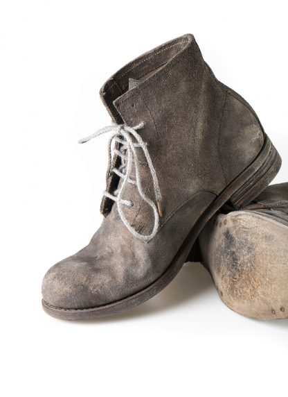 ADICIANNOVEVENTITRE A1923 AUGUSTA women 06 handmade goodyear boot shoe damen schuh horse leather rev grey hide m 5