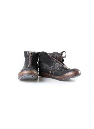 ADICIANNOVEVENTITRE A1923 AUGUSTA women SSN7 handmade front zip sneaker shoe damen schuh horse leather black hide m 2