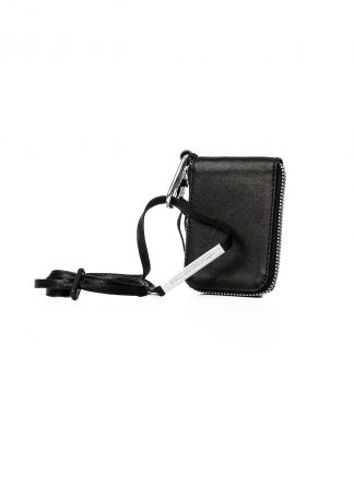 BORIS BIDJAN SABERI BBS WALLET2 Exclusively Exclusive FMM20033 wallet bag geldboerse geldeutel horse leather black hide m 2