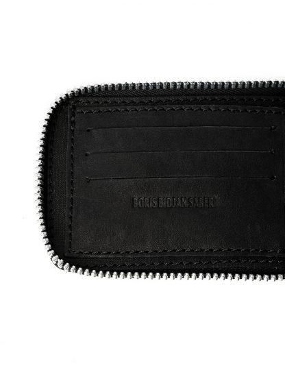 BORIS BIDJAN SABERI BBS WALLET2 Exclusively Exclusive FMM20033 wallet bag geldboerse geldeutel horse leather black hide m 4