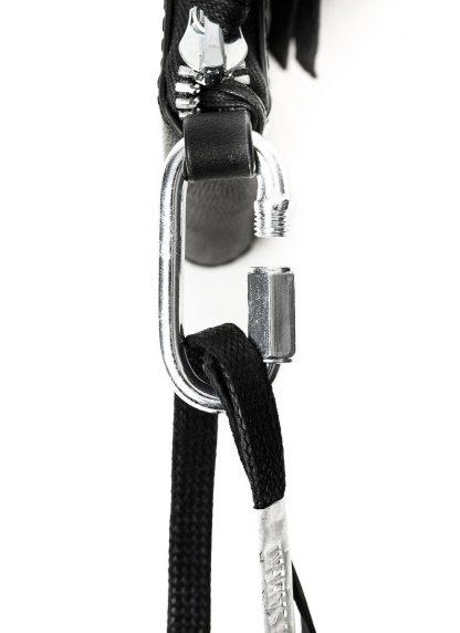 BORIS BIDJAN SABERI BBS WALLET2 Exclusively Exclusive FMM20033 wallet bag geldboerse geldeutel horse leather black hide m 5