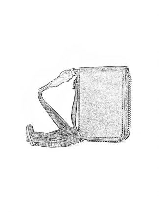 BORIS BIDJAN SABERI WALLET2 FMM20033 wallet bag geldboerse geldeutel horse leather black hide m 1