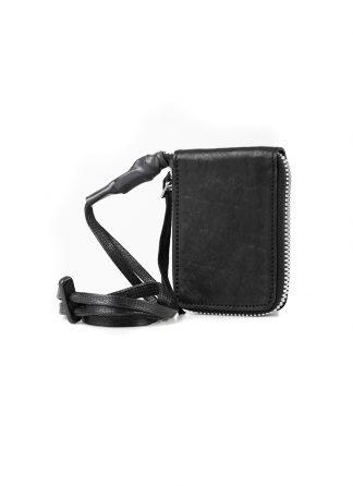 BORIS BIDJAN SABERI WALLET2 FMM20033 wallet bag geldboerse geldeutel horse leather black hide m 2