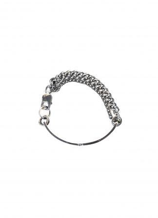 CHIN TEO bracelet armband armkette multi chain id jewelry jewellery schmuck sterling silver 925 hide m 1