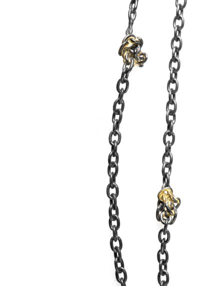 CHIN TEO necklace kette gold knots chain jewelry jewellery schmuck sterling silver 925 18k gold hide m 2