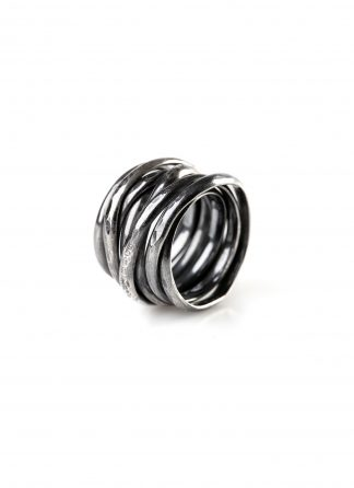 CHIN TEO ring cage jewelry jewellery schmuck sterling silver 925 dark oxidised hide m 1