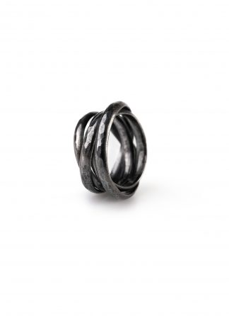 CHIN TEO ring cage mini jewelry jewellery schmuck sterling silver 925 dark oxidised hide m 1