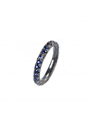 CHIN TEO ring decay saphir sapphire blue jewelry jewellery schmuck sterling silver 925 hide m 1