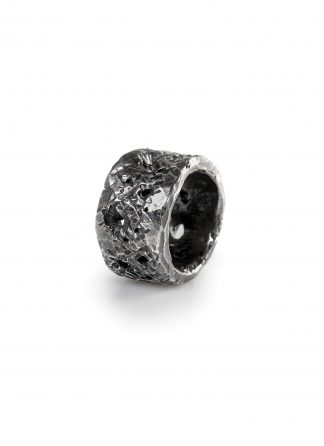CHIN TEO ring splendour jewelry jewellery schmuck sterling silver 925 dark oxidised hide m 1