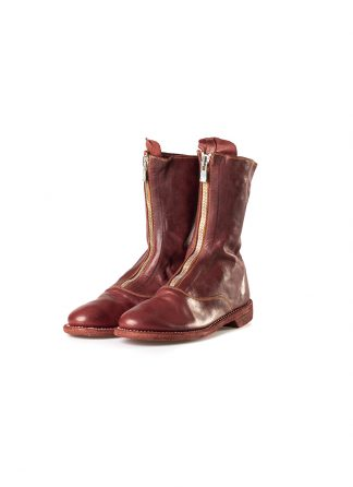 GUIDI 310 women front zip boot shoe damen frauen schuh stiefel horse leather 1006t red hide m 2