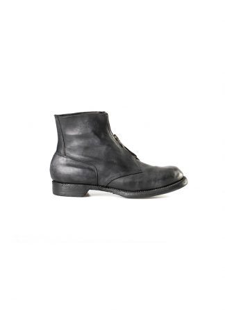 GUIDI 5305FZ men goodyear front zip shoe boot herren schuh stiefel culatta horse leather black hide m 2