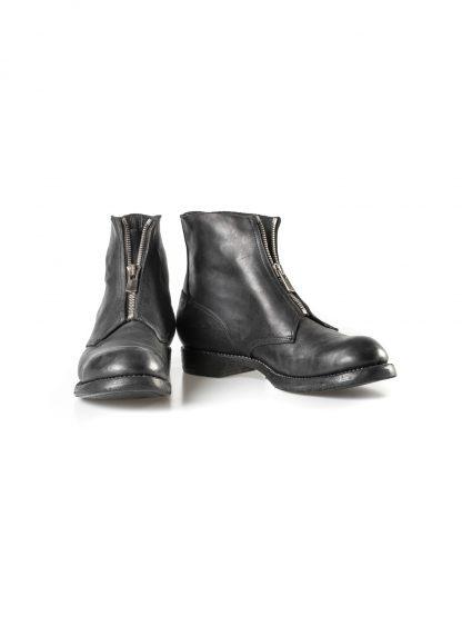 GUIDI 5305FZ men goodyear front zip shoe boot herren schuh stiefel culatta horse leather black hide m 3
