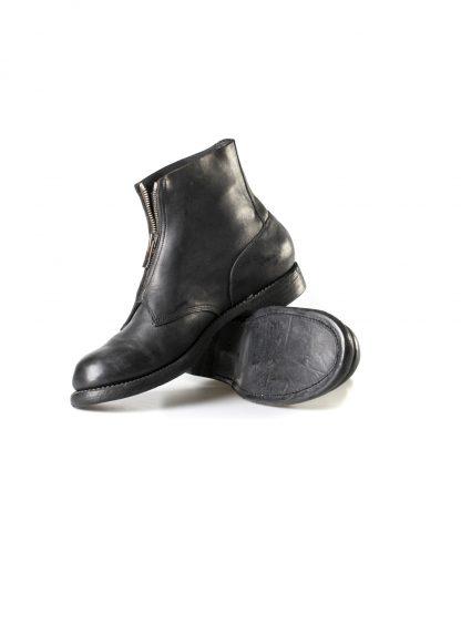 GUIDI 5305FZ men goodyear front zip shoe boot herren schuh stiefel culatta horse leather black hide m 4