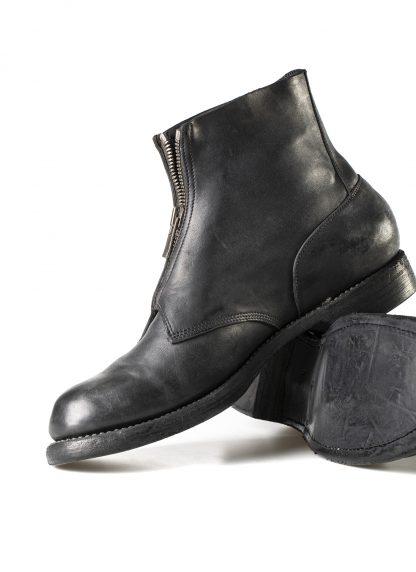GUIDI 5305FZ men goodyear front zip shoe boot herren schuh stiefel culatta horse leather black hide m 5