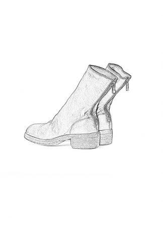 GUIDI 788z women back zip boot shoe damen frauen schuh stiefel horse leather 1006t red hide m 1