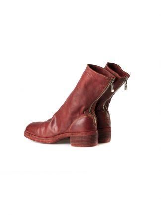 GUIDI 788z women back zip boot shoe damen frauen schuh stiefel horse leather 1006t red hide m 2