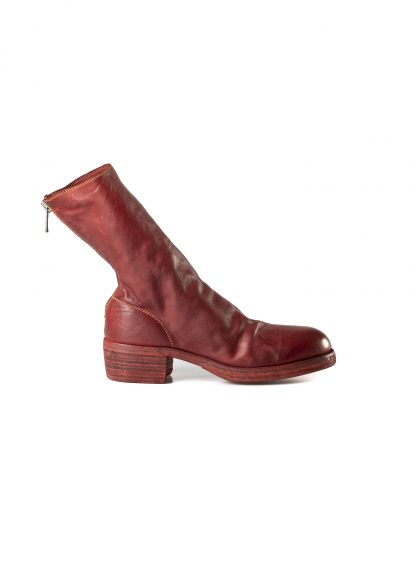 GUIDI 788z women back zip boot shoe damen frauen schuh stiefel horse leather 1006t red hide m 4
