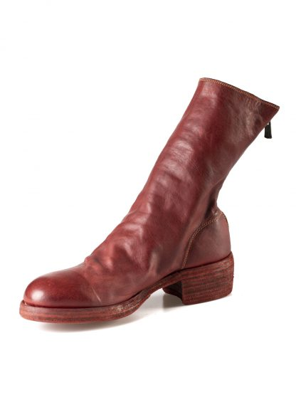 GUIDI 788z women back zip boot shoe damen frauen schuh stiefel horse leather 1006t red hide m 5