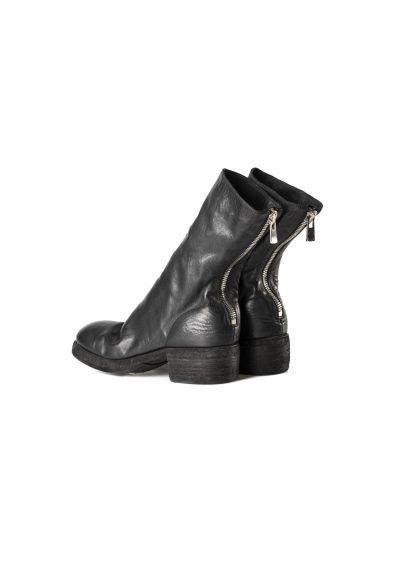 GUIDI 788z women back zip boot shoe damen frauen schuh stiefel horse leather black hide m 4