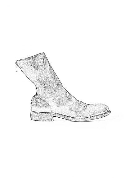 GUIDI 988 men classic back zip boot goodyear herren schuh stiefel horse leather black hide m 1