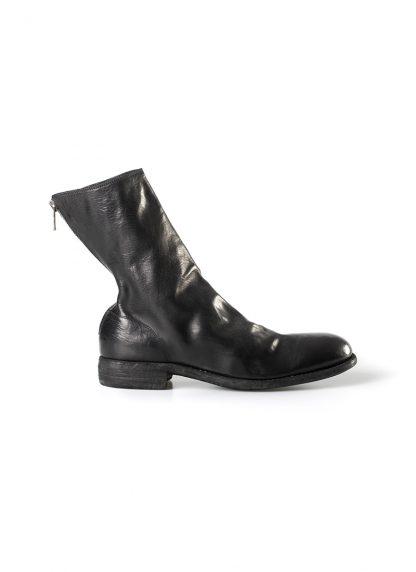 GUIDI 988 men classic back zip boot goodyear herren schuh stiefel horse leather black hide m 2