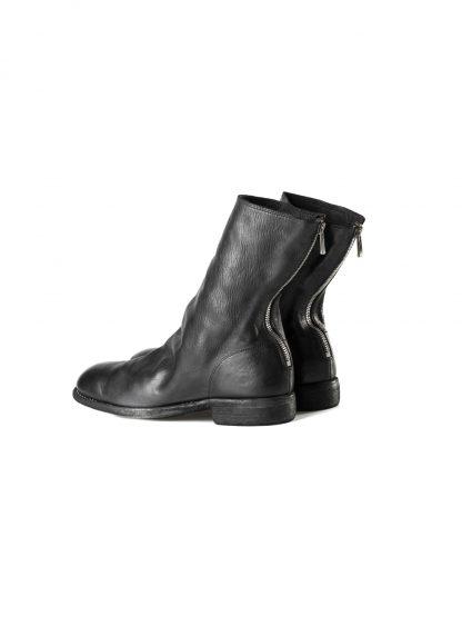 GUIDI 988 men classic back zip boot goodyear herren schuh stiefel horse leather black hide m 4