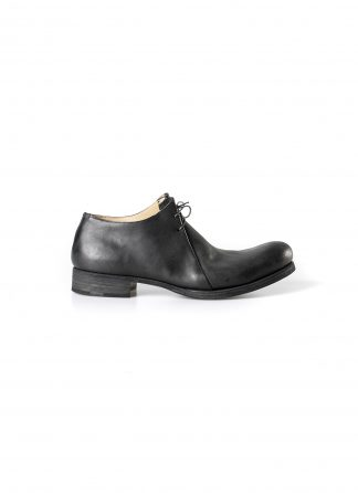 M.A MACROSS Maurizio Amadei men double fold derby shoe herren schuh vachetta cow leather black hide m 2