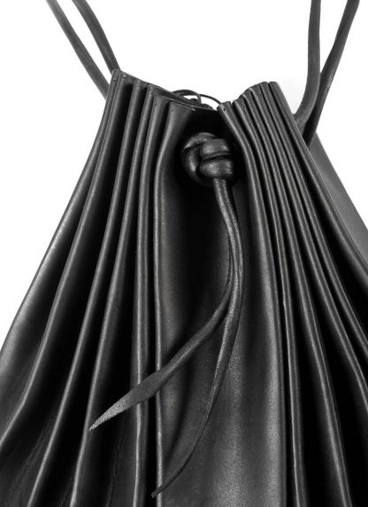 M.A Maurizio Amadei B703 women shell bag damen frauen tasche vachetta cow leather black hide m 3
