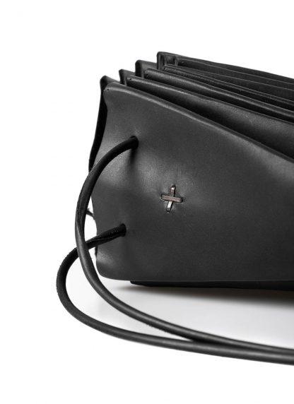 M.A Maurizio Amadei B704 women medium shell bag damen frauen tasche vachetta cow leather black hide m 3
