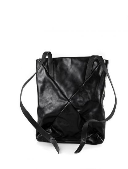 M.A Maurizio Amadei BE155 15zoll Envelope Backpack Bag Rucksack vachetta cow leather black hide m 3