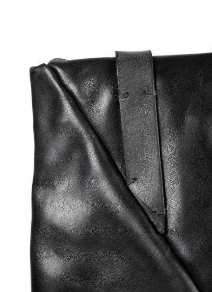 M.A Maurizio Amadei BE155 15zoll Envelope Backpack Bag Rucksack vachetta cow leather black hide m 5