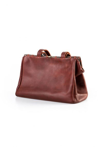 M.A Maurizio Amadei BR22S women Small Doctor Bag vachetta cow leather red hide m 3