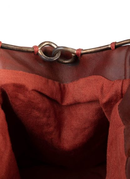 M.A Maurizio Amadei BR22S women Small Doctor Bag vachetta cow leather red hide m 6