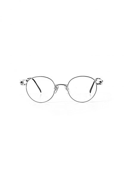 TAICHI MURAKAMI B MEGANE Glasses Eyewear Brille silver frame clear lens hide m 1