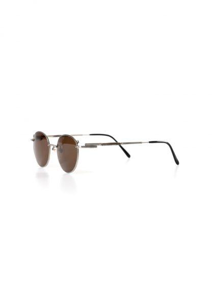 TAICHI MURAKAMI B MEGANE glasses eyewear brille silver frame black lens hide m 3