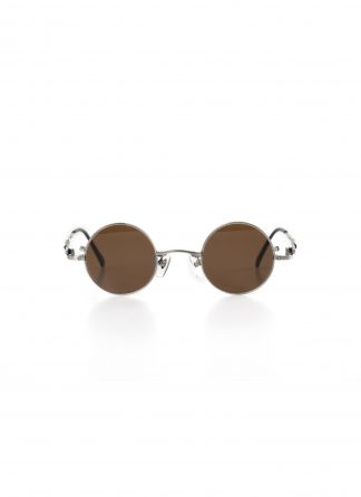 TAICHI MURAKAMI O MEGANE 40x26 Glasses Eyewear Brille silver titan frame brown lens hide m 2
