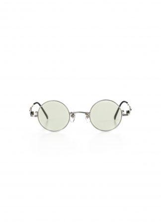 TAICHI MURAKAMI O MEGANE 40x26 Glasses Eyewear Brille silver titan frame green lens hide m 2