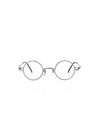 TAICHI MURAKAMI O MEGANE 40x26 Glasses Eyewear Brille silver titan frame light grey lens hide m 1
