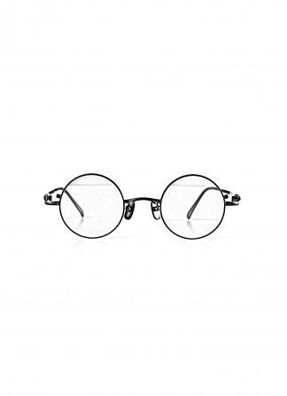 TAICHI MURAKAMI O MEGANE 44x26 Glasses Eyewear Brille titan frame black lens dark grey hide m 1