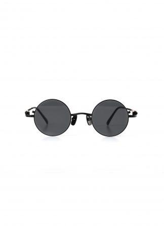 TAICHI MURAKAMI O MEGANE 44x26 Glasses Eyewear Brille titan frame black lens dark grey hide m 2