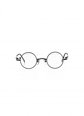 TAICHI MURAKAMI O MEGANE Glasses Eyewear Brille titan frame black lens black hide m 1