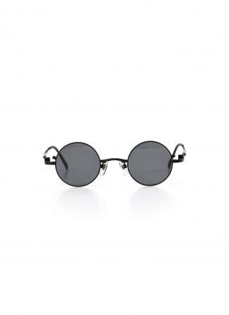 TAICHI MURAKAMI O MEGANE Glasses Eyewear Brille titan frame black lens black hide m 2