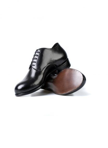 m moriabc maurizio altieri AAA ZeRo goodyear handmade men shoe herren schuh shell cordovan leather black hide m 4
