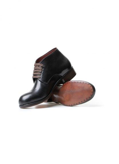 m moriabc maurizio altieri AA I goodyear hand welt women shoe boot damen frauen schuh shell cordovan leather black hide m 4