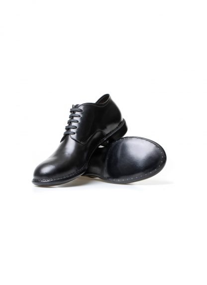 m moriabc maurizio altieri AA ZeRo norwegian handmade men shoe herren schuh shell cordovan leather black hide m 4