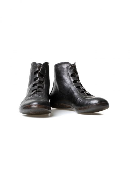 mmoriabc maurizio altieri CCC Sei men hand made sneaker shoe herren schuh destroyed horse leather black hide m 2