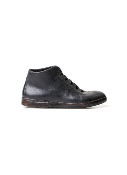 mmoriabc maurizio altieri CCC V women hand made sneaker shoe damen frauen schuh destroyed horse leather black hide m 2