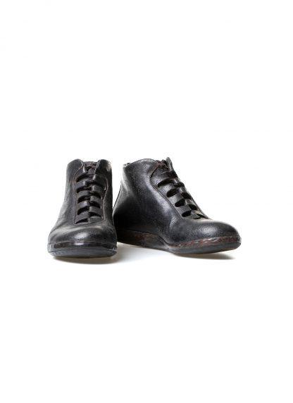 mmoriabc maurizio altieri CCC V women hand made sneaker shoe damen frauen schuh destroyed horse leather black hide m 3