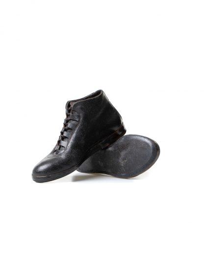 mmoriabc maurizio altieri CCC V women hand made sneaker shoe damen frauen schuh destroyed horse leather black hide m 4
