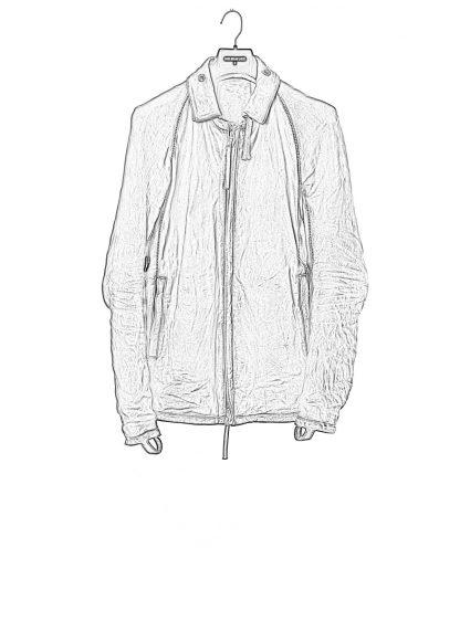 BORIS BIDJAN SABERI BBS J2 Jacket exclusively limited horse leather FMM20020 Herren Jacke black hide m 1